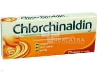 Chlorchinaldin 2mg 20 tabl. do ssania