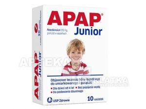 Apap Junior 250 mg 10 saszetek