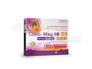 ece5ffc9f834 Olimp Chela-Mag B6 + witamina D3 !!!! 30 kapsułek - Apteka ...