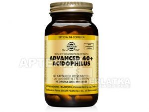 SOLGAR Advanced 40+ Acidophilus x 60 kaps.