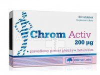 Olimp Chrom Activ 200 mcg 60 tabletek