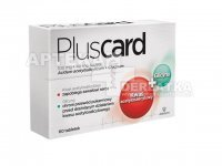 PLUSCARD 100mg+40mg x 60 tabletek